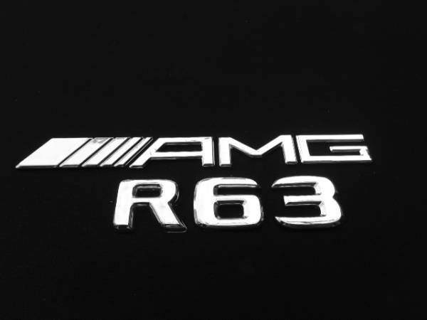 AMG仕様/リア/トランク/エンブレム『AMG』+『R63』BENZベンツW251Rクラス/R350R500R550/アルミ/ホイール/スペーサー/ステアリング/ロッド_画像1