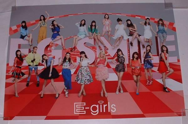 e-girls E.G.SMILE BEST 非売品 B2 ポスター ライブグッズの画像