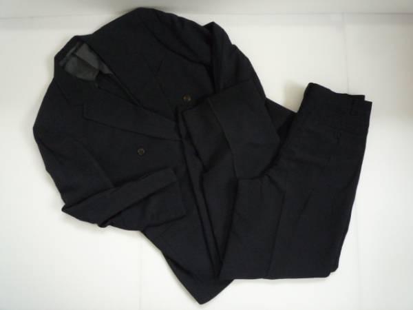 【良品!!】 ◆JACKLOGUN◆ スーツ上下セット 黒色 80