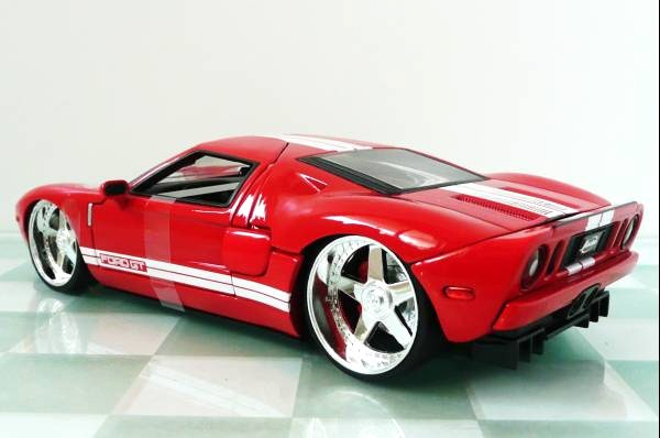 ■JADA 1/24 2005 FORD GT RED③■10_画像2