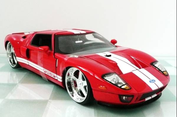 ■JADA 1/24 2005 FORD GT RED③■10_画像1