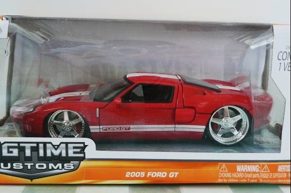 ■JADA 1/24 2005 FORD GT RED③■10_画像3