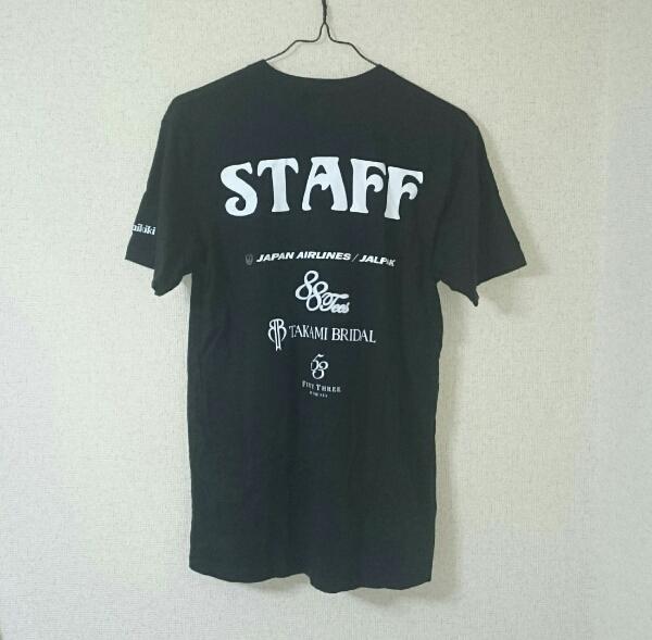 BEGIN YAFAIIAN MUSIC CONCERT 2014in Hawaii STAFF Tシャツ/JAL