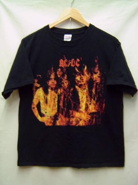 ♪AC DCエーシーディーシーTシャツM黒ロックACDC メタル バンドT