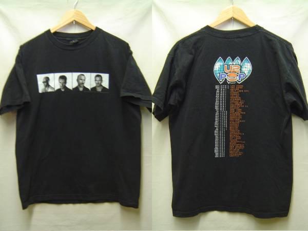♪U2ユーツー1997ツアーTシャツUSA製Lロック バンド ビンテージ