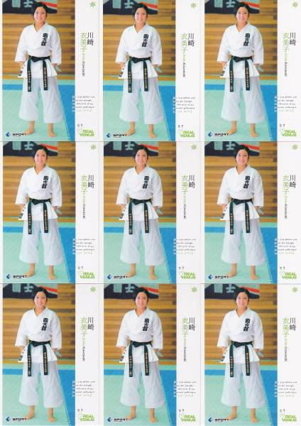 C3928 BBM【川崎衣美子】 2013 リアルヴィーナス 3種x9枚 27枚セット_画像1