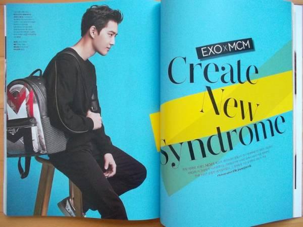 [EXO MCM]韓国雑誌切り抜き12P/2015年7月