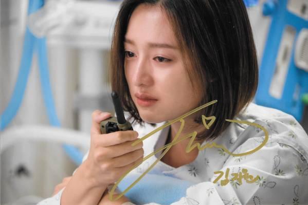 特典★太陽の末裔★キム・ジウォン直筆サイン入り公式生写真366