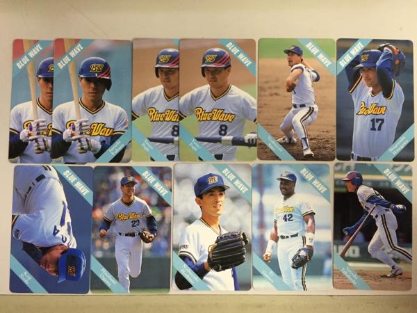 カルビー 1994プロ野球カード オリックス 9種類11枚 グッズの画像