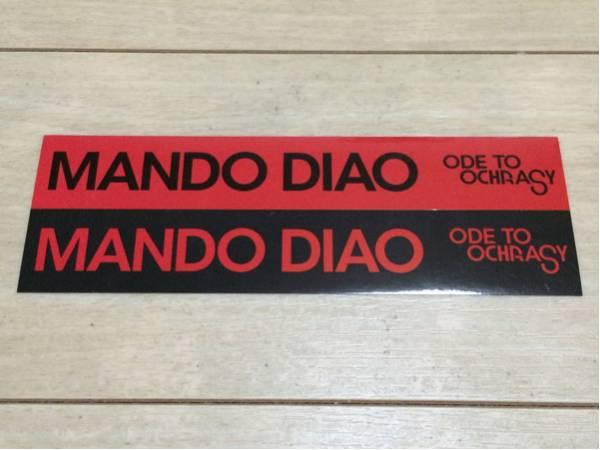 マンドゥ・ディアオ mando diao CD 発売 告知 ステッカー ガレージ シール