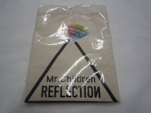 Mr.Children REFLECTION Naked予約特典トートバッグ ステッカー