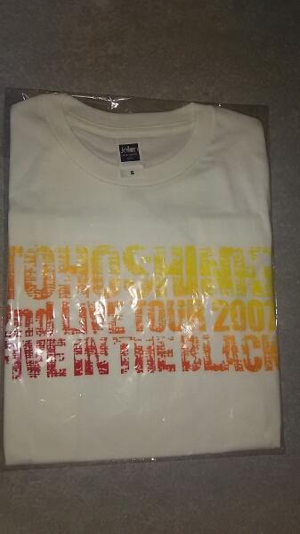 [東方神起] 2nd TOUR Tシャツ (ホワイト/S) ライブグッズの画像