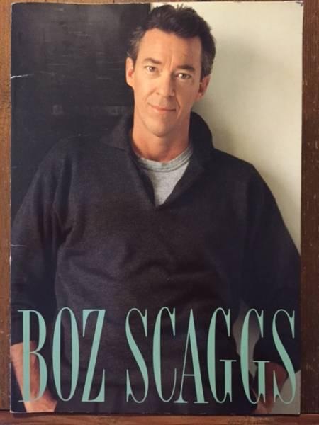 BOZ SCAGGS ボズ・スキャッグス '91 来日ツアーパンフレット!!