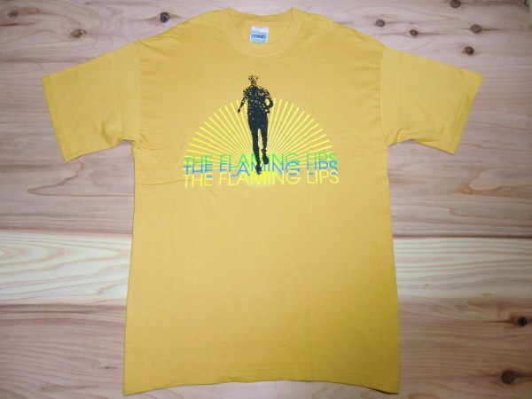 90's THE FLAMING LIPS Race For The Prize ヴィンテージバンドTシャツ sizeL ロック オルタナ USA古着 アメリカ サイケ