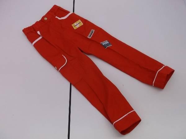 【タグ付き!】◆GRASS PLOT◆綿パンツ 赤 サイズ110