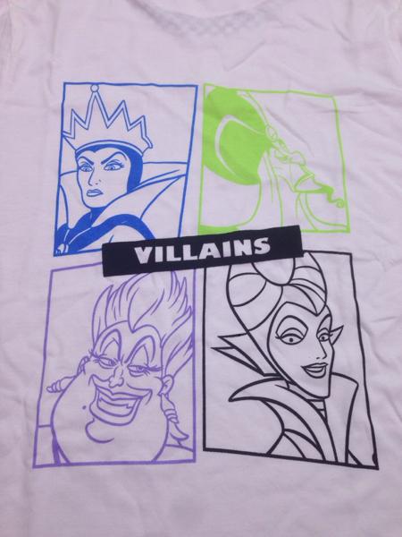 新品ディズニー ヴィランズ シャツ LL白 villainsマレフィセント ディズニーグッズの画像
