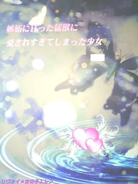 進撃の巨人同人誌★リヴァエレ♀長編小説★Berry Garden「嫉妬に狂っ~」