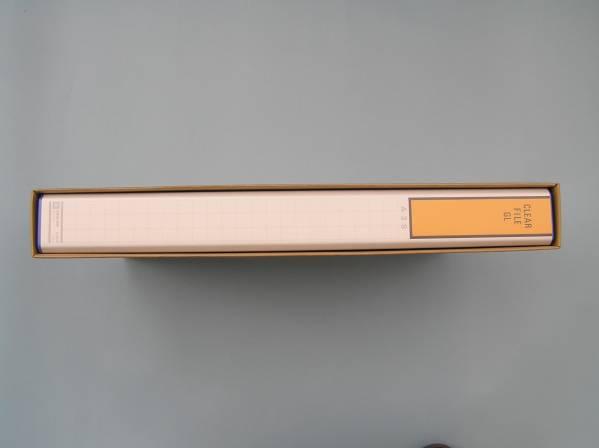 未使用 クリアーファイル キングジム GL A3S判 タテ型 154_画像3