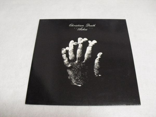 LP レコードCHRISTIAN DEATH  ashes