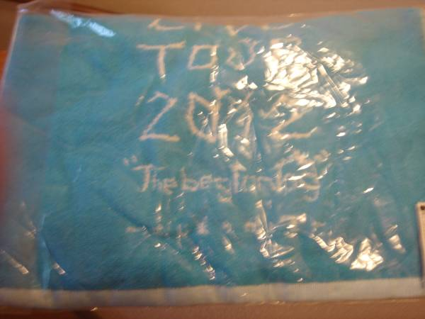 絢香ライヴツアー2012はじまりのときスポーツタオル新品未開封