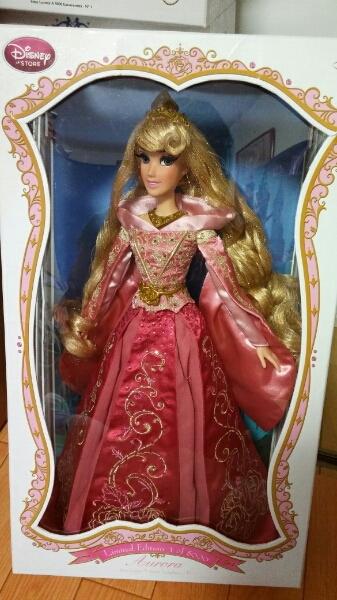 オーロラ姫★リミテッドドール★ドール★人形★ディズニー★限定 ディズニーグッズの画像