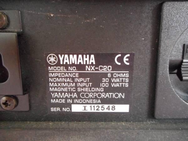 H3199 YAMAHA スピーカー NX-C20_画像3