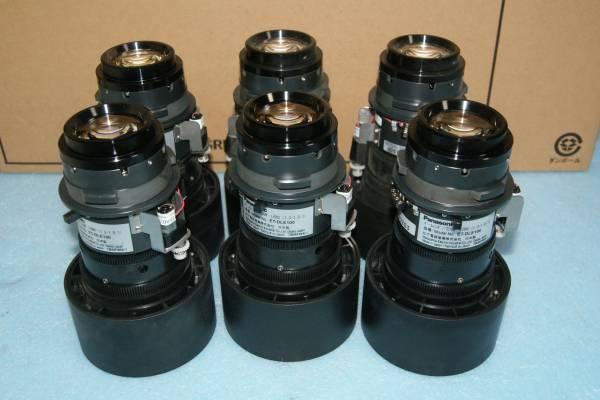 PANASONIC PT-D5700 TH-D5500 TH-D5600 PT-DW5100 TH-DW5000 PT-D4000 th-d3500など用短焦点レンズ ET-DLE100 6個セット_画像1