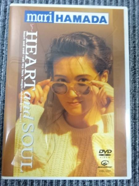 DVD/Heart and Soul/RETURN TO MYSELF/浜田麻里 ライブグッズの画像