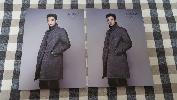 ★キム・スヒョン★AND Z ZIOZIA 2015年冬カタログ ポスター