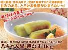八ちゃん堂 本焼きなす 1kg Mサイズ(業務用)