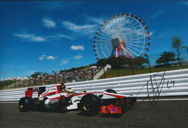 F1 日本グランプリ ペドロ・デ・ラ・ロサ サイン フォト