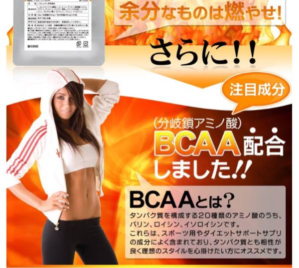 L-カルニチンBCAA 約1ヵ月分 バリン ロイシン イソロイシン ダイエット 健康食品 サプリメント_画像2