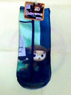 チェブラーシカ ソックス 靴下 22 23 24㎝ 婦人用 激レア電話BOX グッズの画像