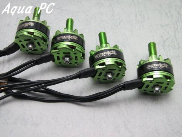 AquaPC★1704-1900Kv 12Pole Multi-Rotor Outrunner (4pcs)★