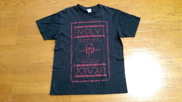 coldrain 2014年1/18コーストLIVE限定Tシャツ!crossfaith.fear.ONE OK ROCK