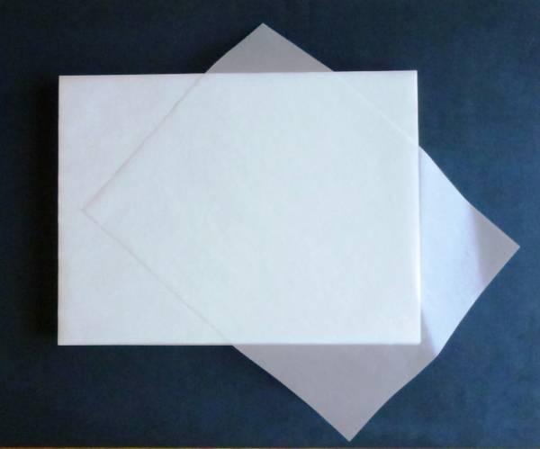 グラシン紙(パラフィン紙) 255×340mm 20g/m 1000枚_画像1
