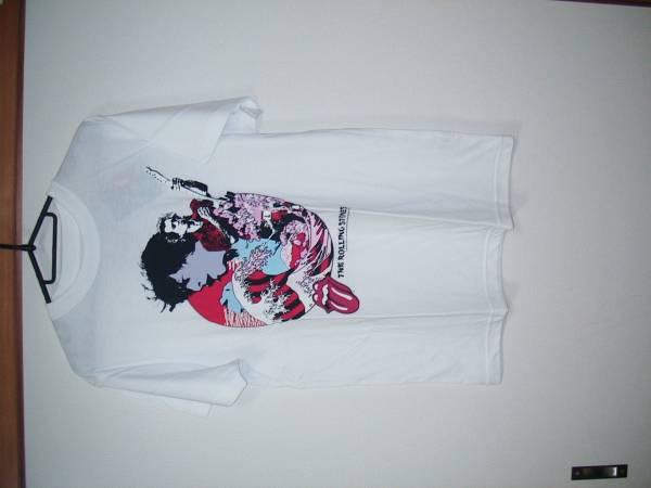 ローリングストーンズ Tシャツ 東京ドーム キース ミック ジャガー 限定 ライブグッズの画像