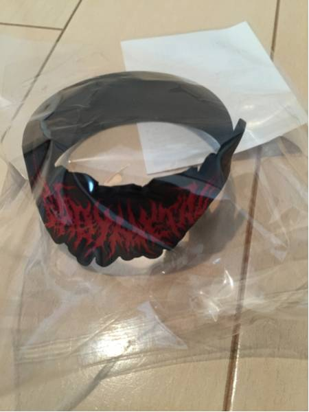BABYMETAL エクストリーム ブルータル ロゴ ラバーバンド 未開封 ライブグッズの画像