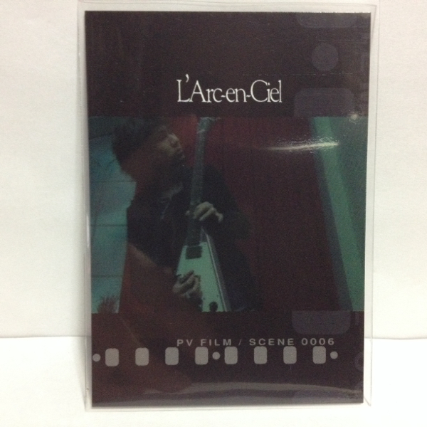 L'Arc~en~Ciel TRADING CARD PERFECT COLLECTION 再販 No.123