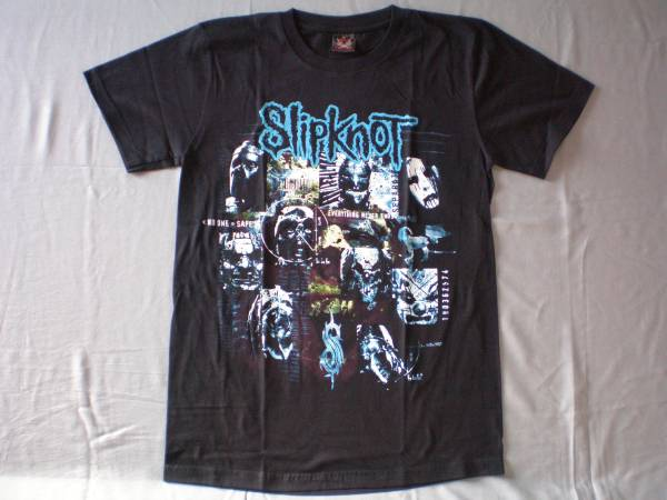 バンドTシャツ  スリップノット(slipknot)w2   新品 M