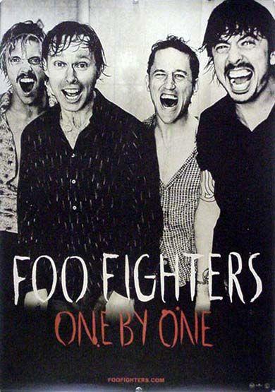 FOO FIGHTERS フー・ファイターズ B2ポスター (K02008)