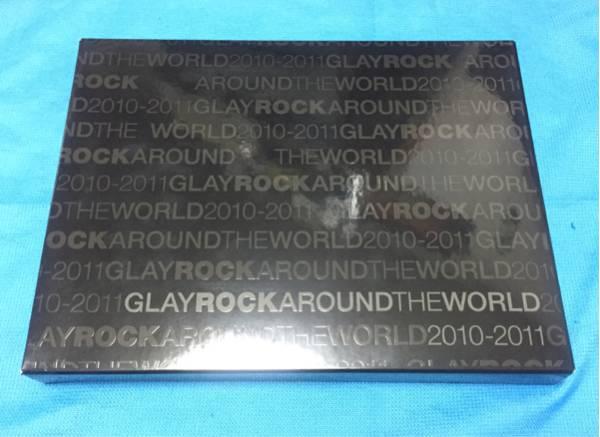 GLAY ROCKAROUND THE WORLD 2010-2011 写真集 パンフレット