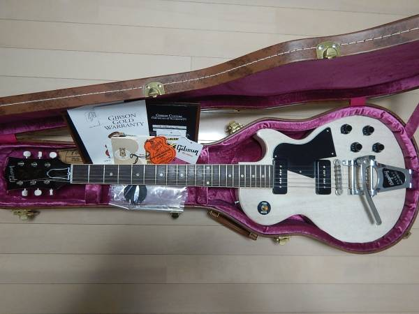 2014年Gibson Historic Collection Japan Limited 1960 Les Paul Special VOS w/Bigsby TV white
