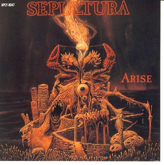 セパルトゥラ SEPULTURA ステッカー