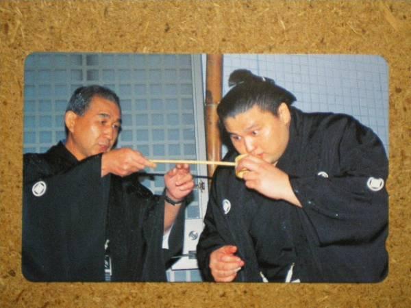 spor・相撲 貴乃花 二子山親方 テレカ