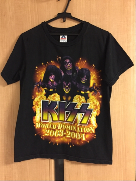 KISS WORLD DOMINATION 2003-2004 Tシャツ サイズS