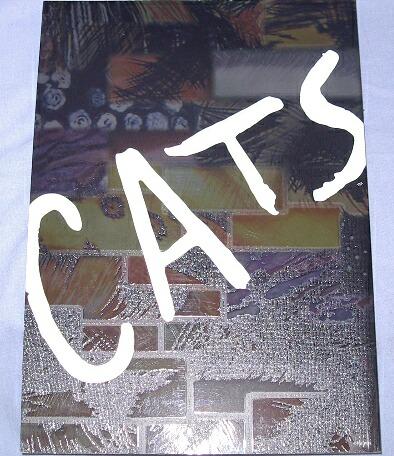 ★劇団四季パンフ CATS キャッツ・シアター2004年