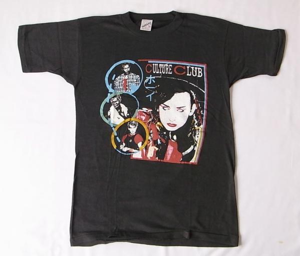 デッドストック カルチャークラブ Tシャツ M パキ綿 ビンテージ (ロックTシャツ バンドTシャツ