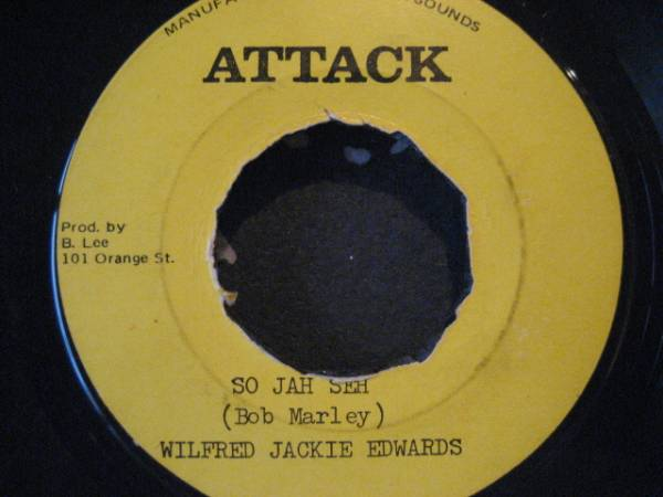 ■Wilfred Jackie Edwards/So Jah Say■KILLER ROOTS_画像1