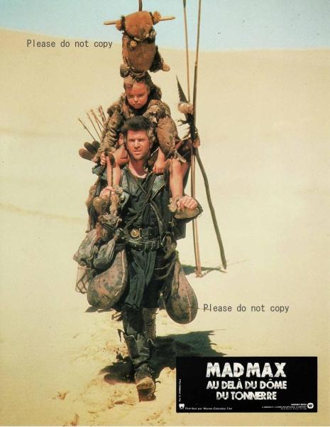 1985年 マッドマックス/サンダードーム ロビーカード 3枚付き